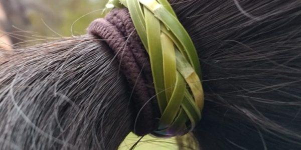 竹リング ヘアバンド