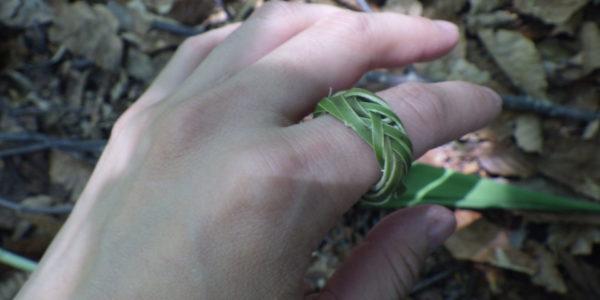 指輪竹リング